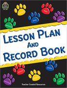 Paw Prints Lesson Plan and Record Book 0 9781420625516 1420625519