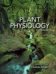 Plant Physiology 5th Edition 9780878938667 0878938664