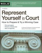 Represent Yourself in Court 7th edition 9781413312690 1413312691