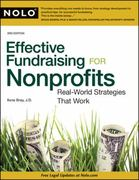 Effective Fundraising for Nonprofits 3rd Edition 9781413312539 1413312535