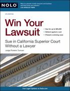 Win Your Lawsuit 4th Edition 9781413310757 1413310753
