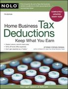 Home Business Tax Deductions 7th edition 9781413312782 1413312780