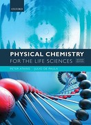 Physical Chemistry for the Life Sciences 2nd Edition 9780199564286 0199564280