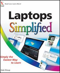 Laptops Simplified 1st edition 9780470769027 0470769025