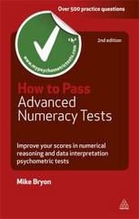 How to Pass Advanced Numeracy Tests 2nd edition 9780749460815 0749460814
