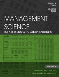 Management Science 3rd edition 9780470530672 0470530677