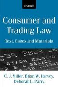 Consumer and Trading Law 2nd edition 9780198764786 0198764782