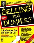 Selling For Dummies 1st edition 9781568843896 1568843895