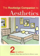 The Routledge Companion to Aesthetics 2nd edition 9780415327985 0415327989
