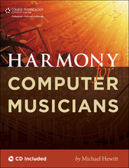 Harmony for Computer Musicians 1st edition 9781435456723 1435456726