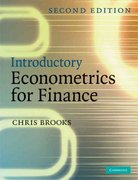 Introductory Econometrics for Finance 2nd edition 9780521694681 052169468X