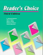 Reader's Choice 3rd edition 9780472082650 0472082655