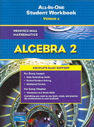 Prentice Hall Mathematics, Algebra 2 1st Edition 9780131657243 0131657240