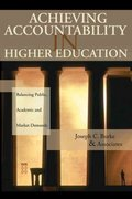Achieving Accountability in Higher Education 1st edition 9780787972424 0787972428