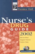 Prentice Hall Nurse's Drug Guide 2002 0 9780130420381 0130420387