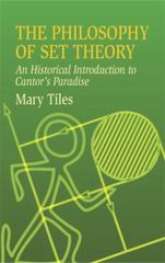The Philosophy of Set Theory 0 9780486435206 0486435202