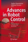 Advances in Robot Control 1st edition 9783540373469 3540373462