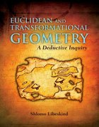 Euclidean and Transformational Geometry 1st edition 9780763743666 0763743666