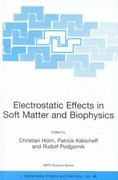 Electrostatic Effects in Soft Matter and Biophysics 1st edition 9781402001963 1402001967