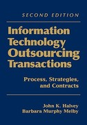 Information Technology Outsourcing Transactions 2nd edition 9780471459491 0471459496