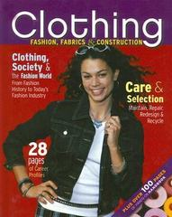 Clothing: Fashion, Fabrics & Construction, Student Text 4th edition 9780078290060 0078290066