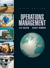 Operations Management 9th edition 9780132342711 0132342715