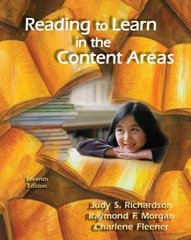 Reading to Learn in the Content Areas 7th Edition 9780495506065 0495506060