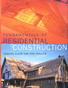 Fundamentals of Residential Construction 1st edition 9780471386872 0471386871