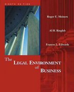 Legal Environment of Business 8th edition 9780324121513 0324121512