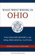 What Went Wrong In Ohio 0 9780897335355 089733535X