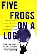 Five Frogs on a Log 1st edition 9780887309816 088730981X
