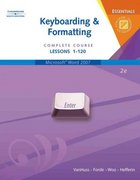 Keyboarding & Formatting Essentials, Complete Course, Lessons 1-120 (with CD-ROM) 2nd Edition 9780538729802 0538729805