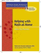 Helping with Math at Home 0 9780325009391 0325009392