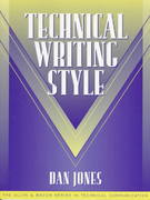 Technical Writing Style (Part of the Allyn & Bacon Series in Technical Communication) 1st edition 9780205197224 0205197221