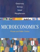 Microeconomics 12th edition 9780324580204 0324580207