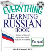 Learning Russian Book 1st Edition 9781598693874 1598693875