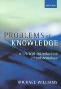 Problems of Knowledge 0 9780192892560 0192892568