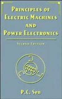 Principles of Electric Machines and Power Electronics 2nd edition 9780471022954 0471022950