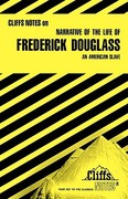 CliffsNotes on Douglass' Narrative of the Life of Frederick Douglass 1st edition 9780822008729 0822008726