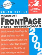 Frontpage 2002 for Windows 2nd edition 9780201741438 0201741431