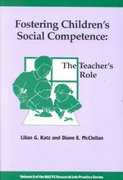 Fostering Children's Social Competence 1st Edition 9780935989823 093598982X