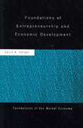 Foundations of Entrepreneurship and Economic Development 1st edition 9780415459204 0415459206