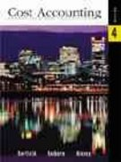 Cost Accounting 4th edition 9780324026450 0324026455