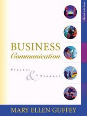 Business Communication 3rd edition 9780324007664 0324007663
