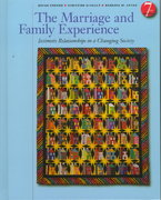 The Marriage and Family Experience 7th edition 9780534537579 053453757X
