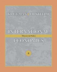 International Economics 8th edition 9780321493040 0321493044