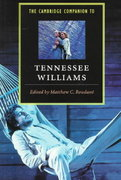 The Cambridge Companion to Tennessee Williams 1st Edition 9780521498838 052149883X