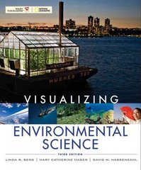 Visualizing Environmental Science 3rd edition 9780470569184 0470569182