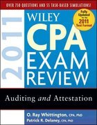 Wiley CPA Exam Review 2011, Auditing and Attestation 8th edition 9780470554340 0470554347