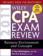 Wiley CPA Exam Review 2011, Business Environment and Concepts 8th edition 9780470554357 0470554355